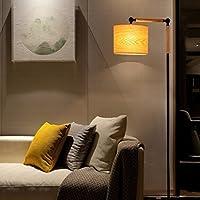 Kreative amerikanische Retro- Fußboden-Lampen-Entwerfer-feste hölzerne Wohnzimmer-Schlafzimmer-Nachttisch-Studie-Fischen-Lampe preisvergleich bei billige-tabletten.eu