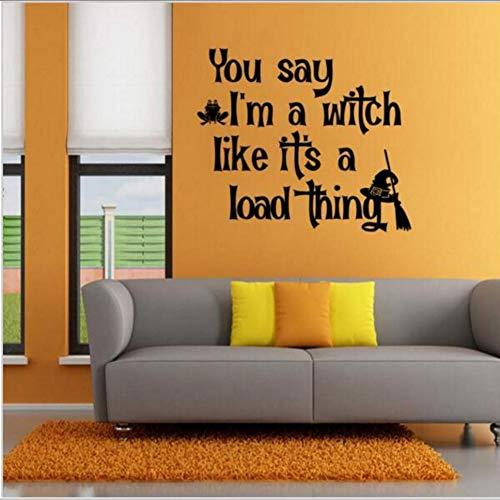 exe Zitat Aufkleber Halloween Dekor Diy Wandaufkleber Geschrieben Wallpaper Party Dekoration ()