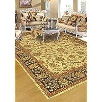 Floare Carpet Tapis Classique, Oriental, 240x340 cm, Pure Laine, Beige !!! (240_x_340_cm)