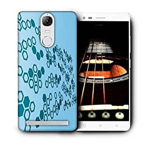 Snoogg Hex Amazing Printed Protective Phone Back Case Cover For Lenovo K5 Note