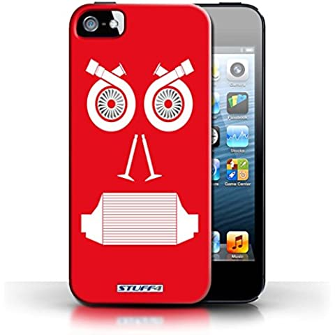 STUFF4phone Case/Cover/Skin/IP5S/coche parte caras colección Turbo/Red