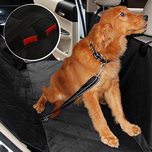 Foderine impermeabili per cani auto, Soft antiscivolo resistente Sedile Cani Gatti Hammock posteriore della copertura (Rosa Car Care)