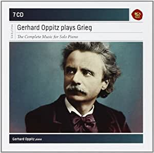 Gerhard Oppitz Plays Grieg-Compl.Solo Piano Works