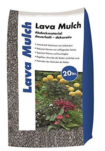 Hamann Lava-Mulch Anthrazit 16-32 mm 20 l