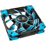 Aerocool DS Blue Edition - ventilateurs, refoidisseurs et radiateurs (Boitier PC, Ventilateur, Noir, Bleu, Plastique, Caoutchouc)