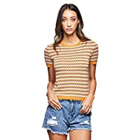 OVS Women's 191JMP846-72 Pullover, Multicolour (Multicolour Striped 838), Small