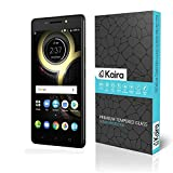 #8: Kaira Ballistic Tempered Glass Screen Protector for Lenovo K8 Note - Transparent [Smaller Due To Curve Edges]