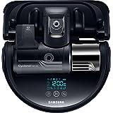 Samsung VR9300 VR20K9350WK/EG POWERbot Saugroboter (250 W, extra starke Saugkraft, ideal für Teppiche und Tierhaare, saubere Ecken, WLAN und App, Alexa, Fernbedienung, Startzeit-Vorwahl) schwarz