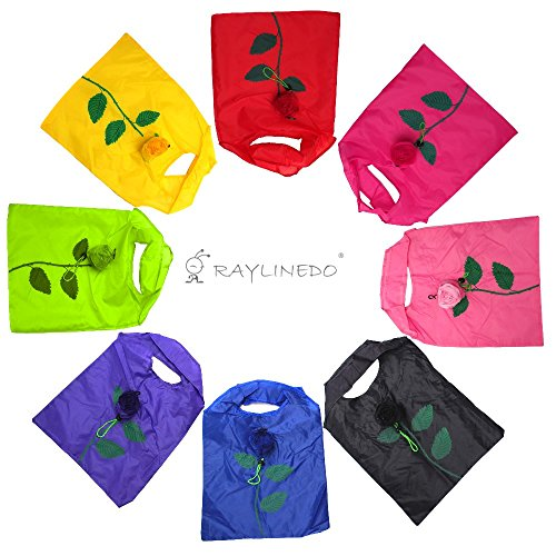 RayLineDo-Expandable-Shopping-Rose-Bags-Reusable-Grocery-Shopping-Tote-Bags-Convenient-Grocery-Bags-and-Handy-Shopping-Travel-Bags-8-PACK
