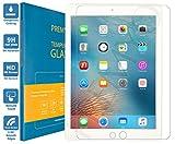 PREMYO iPad Air 2 Panzerglas. iPad Air 2 Displayschutzfolie mit Härtegrad 9H und abgerundeten Ecken 2,5D. Apple iPad Air 2 Schutzglas
