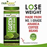 Farganic 100% Certified Organic Premium Arabica Green Coffee Powder for weight loss. 225