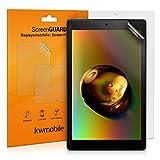 kwmobile 2X Amazon Fire HD 10 (2017) Folie - Full Screen Tablet Schutzfolie für Amazon Fire HD 10 (2017) entspiegelt