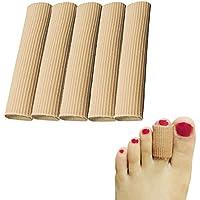Gel Zehenkappen, 5Paar/Packung für kleine Zehen, Finger, Zehen Protektoren, Fuß Ärmel, für Hühneraugen Entferner... preisvergleich bei billige-tabletten.eu