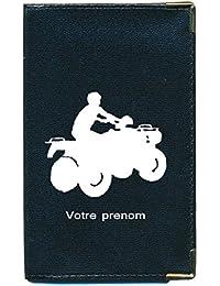 Syl'la - Funda para tarjeta gris, permiso de conducir, documentos de coche planos