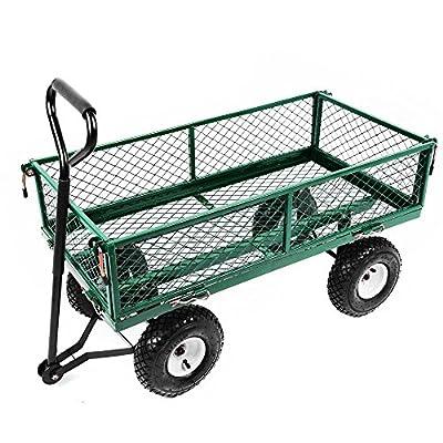"Oypla Large Garden Cart Truck Trolley Utility Cart 37"" x 20"""