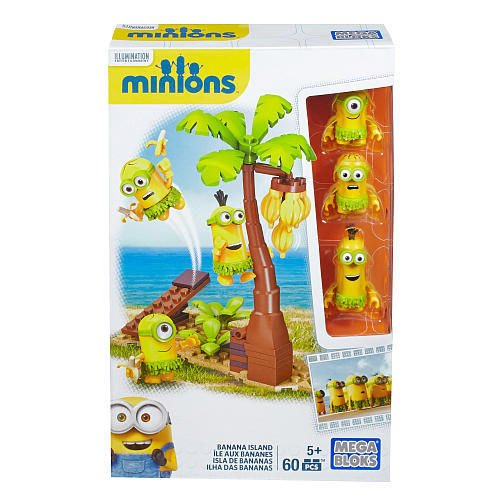 Mega Bloks, Minions Movie, Banana Island Building