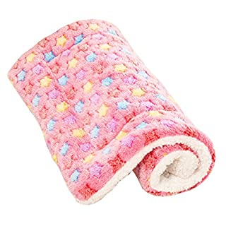 ACTNOW Pet bed · Mat Cushion for Dog · Cat Washable sound Sleep Comfortably Fluffy Bed Sofa Pink XL