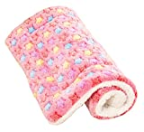 ACTNOW Pet bed · Mat Cushion for Dog · Cat Washable sound Sleep Comfortably Fluffy Bed Sofa Pink S