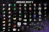 Póster Minecraft - Pixel Sprites (91,5cm x 61cm)