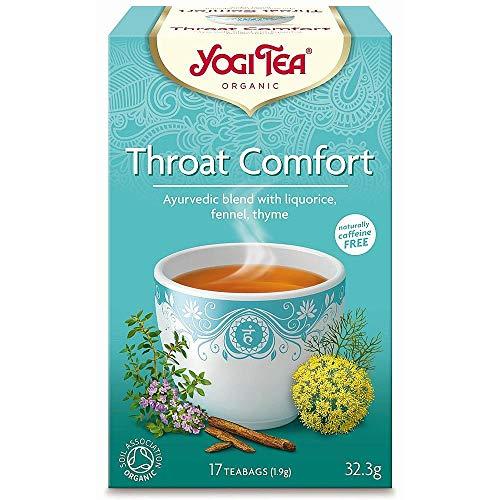Yogi Tea - Té Comfort para Garganta