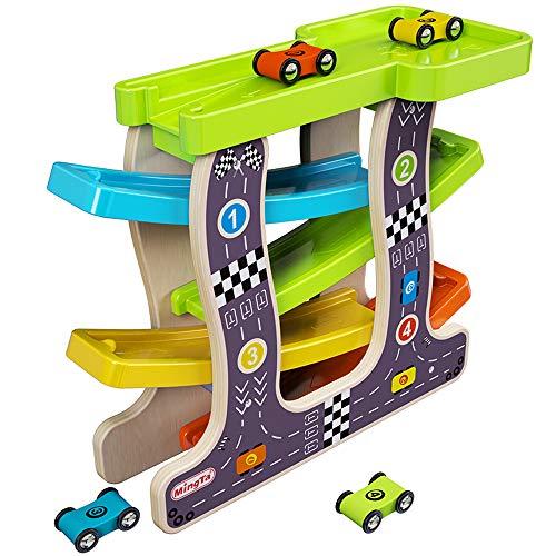 Pinjeer 3 dimensioni opzionali giocattoli per bambini ragazzi gliding cars early learning puzzle rail car giocattoli educativi regali di compleanno per bambini 1-3 anni