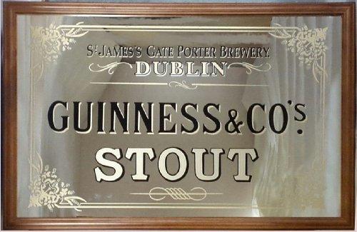 Guinness St. James 's Gate Großer Spiegel