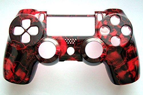 PS4 Controller-Oberschale für alte Modelle (Red Zombies)