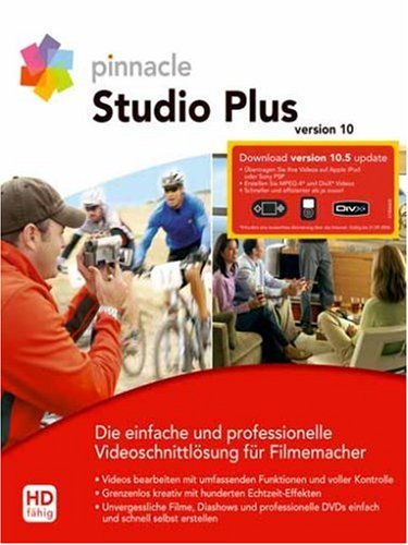 Preisvergleich Produktbild Pinnacle Studio Plus 10