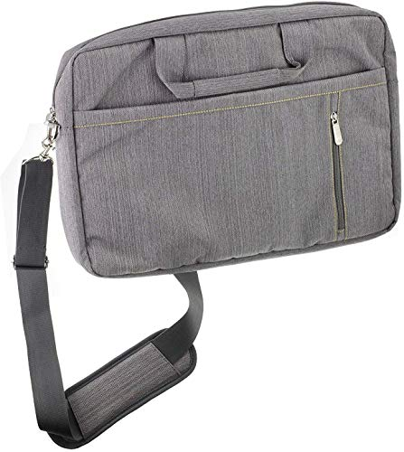 "Navitech Grau Fall/Abdeckung Trage Tasche Kompatibel Mit Dem HP EliteBook 1050 G1 15.6"" 4K UHD Laptop"