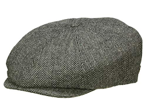 Brixton Casquette Gavroche Brood Homme - gris