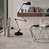 Floor Stand Lights - Retro Industrie Stehleuchte minimalistischen kreative Schlafzimmer Wohnzimmer Studie mechanische Arm vier Stehlampe - Design Fixture Lighting (Farbe : SCHWARZ)