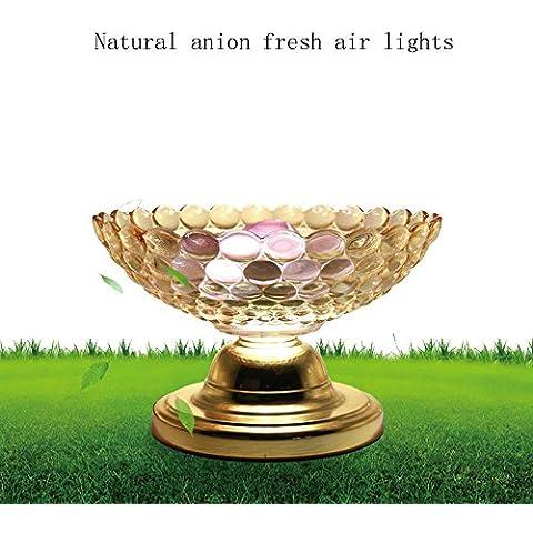Lámpara de mesa de purificador de aire de anión