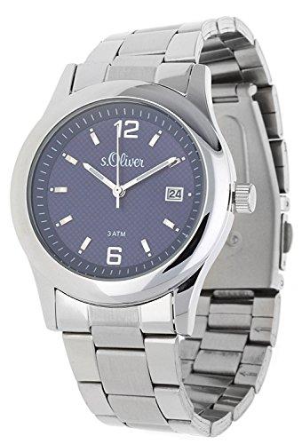 s.Oliver Herren-Armbanduhr Analog Quarz SO-15031-MQR