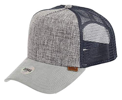 Djinns Suelin (grey) - Trucker Cap Meshcap Hat Kappe Mütze Caps