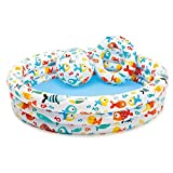 Pinfect 3pcs Portable Outdoor Baby Swimming Pool Round Basin Toys Summer Water Pool