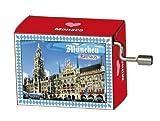 Fridolin - 99085 - Boîte à musique - L\'hôtel de ville de Munich - Beethoven - Pour Elise