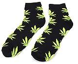 Mens & Womens Pattern Socks Marijuana Weed Cannabis Pattern Plant Life Pattern Socks