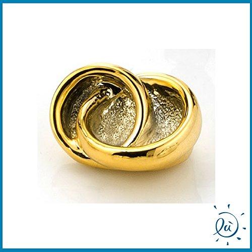 Fedi oro matrimonio anniversario in resina dorata | bomboniere matrimonio originali moderne e utili sposi e accessori bomboniere economiche fai da te