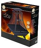 Feuerkorb Feuerstelle, Stahl, schwarz/grau, 69 x 69 x 130 cm
