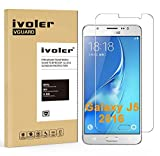 Samsung Galaxy J5 (2016) Pellicola Protettiva, iVoler® Pellicola Protettiva in Vetro Temperato per Samsung Galaxy J5 (2016) - Vetro con Durezza 9H, Spessore di 0,2 mm,Bordi Arrotondati da 2,5D-Shockproof, Trasparenza ad alta definizione, Facile da installare- Garanzia a vita