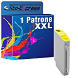 PlatinumSerie® 1x Druckerpatrone XXL mit Chip und Füllstandsanzeige kompatibel zu HP 940 XL Yellow OfficeJet Pro 8000 8000 Enterprise 8000 Series 8000 Wireless 8500 8500 A 8500 A Plus 8500 A Premium 8500 Premier 8500 Series 8500 Wireless