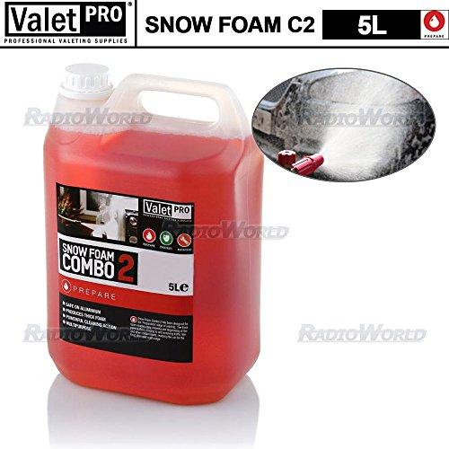 ValetPRO Schnee Foam Shampoo Valet Waschen Auto Van Seife Leistungsstark Alkaline von