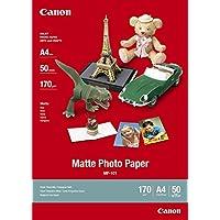Canon MP101 Matte Photo Paper (A4, 170GSM, 50 Sheets)