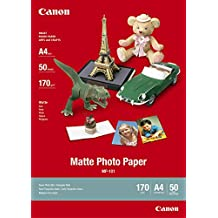 Canon MP-101 - Papel fotográfico A4, mate, 170g/m2, 50 hojas