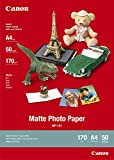 Canon MP-101  Papier Photo Canon Mat Format A4 (50 feuilles)