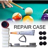 xiangpian183 Billar/Pool/Snooker Tip Kits de Herramientas de reparación Cuidado Accesorio