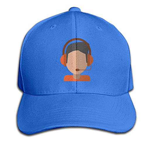 Osmykqe Headphones Boy Unisex Sommer Sonnenhut einstellbar lässig Golf Tennis Caps - Baseball-cap Boston Kleinkind