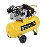 Druckluft Kompressor 2.200 Watt, 3 PS, 50 Liter Tank - POWX1770