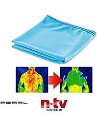 PEARL Kühltücher: Effektiv kühlendes Multifunktionstuch, 110 x 35 cm (Kühlendes Stirnband)