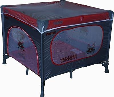 Cuna de viaje - Cunas y camas - Cuna plegable - Cuna infantil - Travel Cot ARTI Basic new+T Winner Red Gray - FREE bolsa funcional